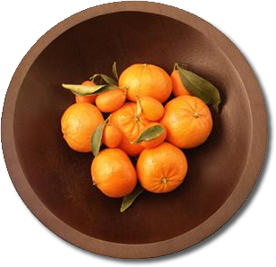 Oranges are not the only fruit. Unless you own this bowl